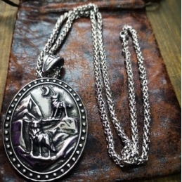 Collier Odin double face.